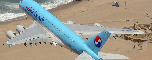 Korean Air Airbus A380-861 HL7612 (msn 039) LAX (Sam Chui). Image: 908571.